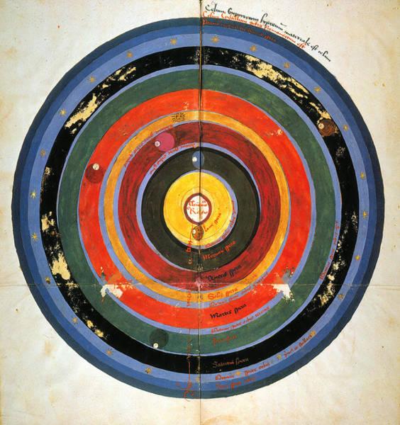Photograph - Pre-copernican Universe by Granger