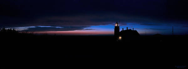 Photograph - Pre Dawn Light Panorama At Quoddy by Marty Saccone