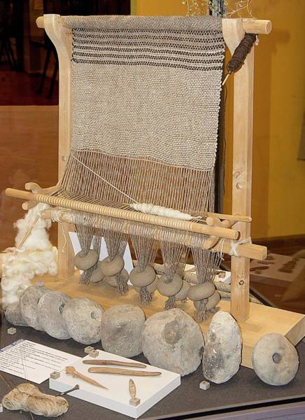 Wall Art - Photograph - Pre-historic Weaving In Northern Italy by Sheila Terry