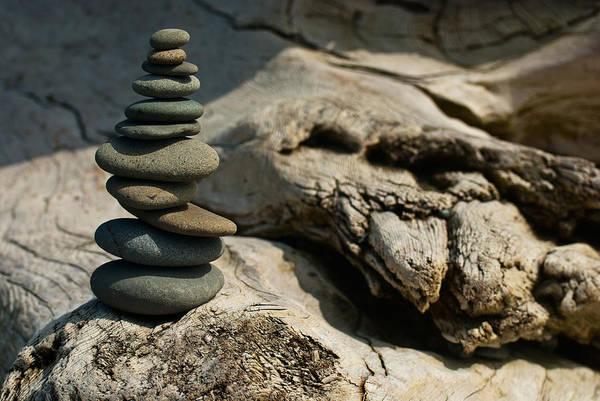 Photograph - Precarious Cairn by Jani Freimann