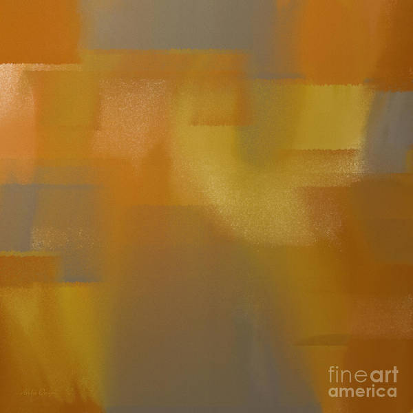 Silver And Gold Digital Art - Precious Metals Abstract 2 by Andee Design