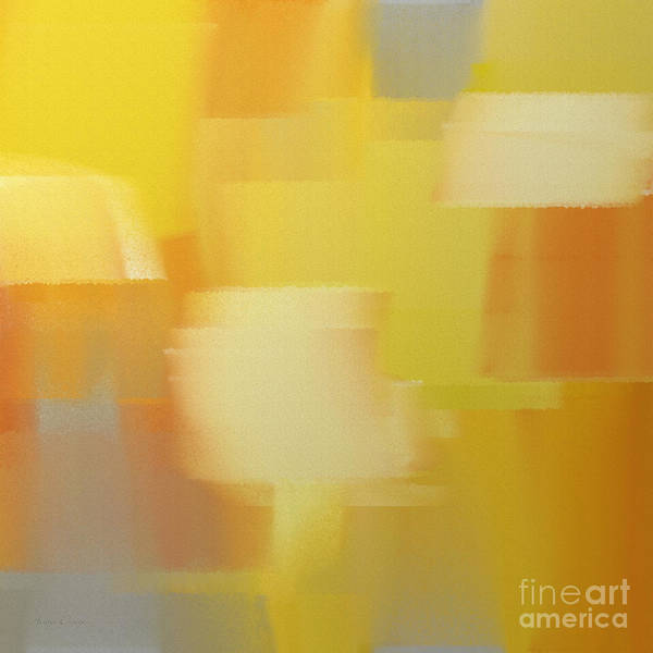 Silver And Gold Digital Art - Precious Metals Abstract 4 by Andee Design