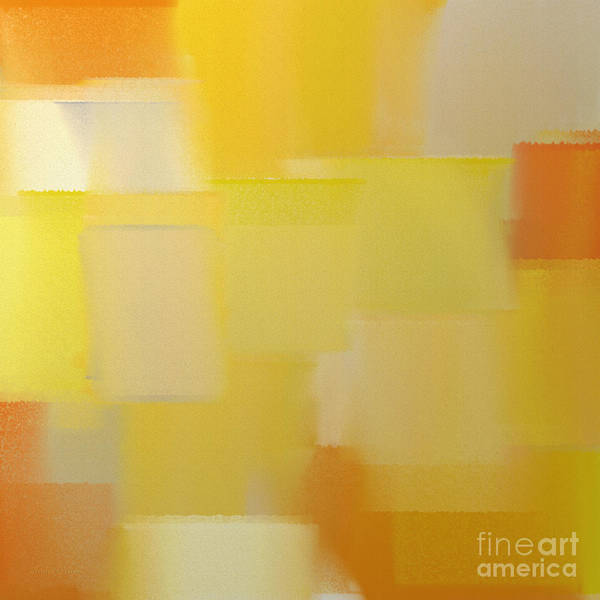 Silver And Gold Digital Art - Precious Metals Abstract 5 by Andee Design