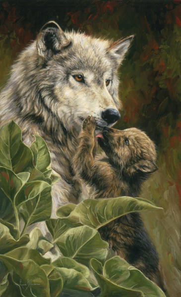 Painting - Precious Moment by Lucie Bilodeau