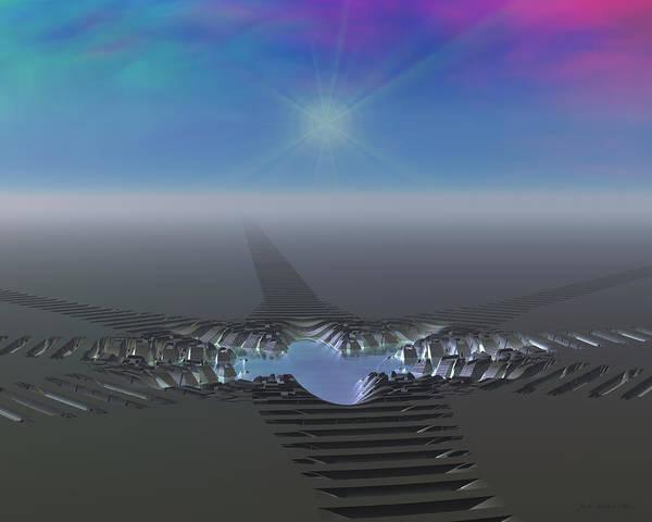 Digital Art - Precious Water 2 by Judi Suni Hall