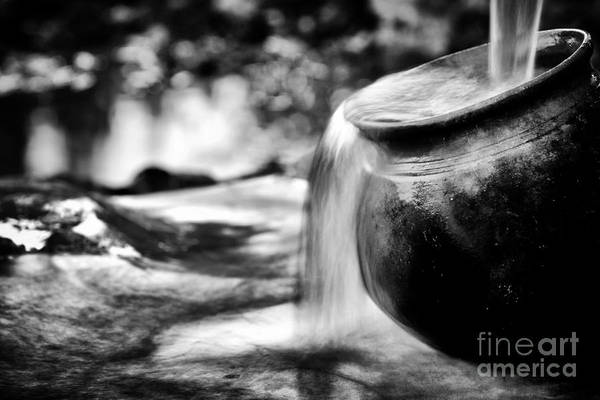 Clay Pot Photograph - Precious Water by Tim Gainey