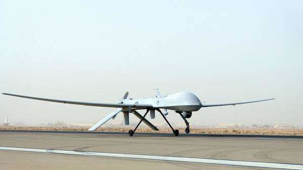 Military Air Base Photograph - Predator Unmanned Aerial Vehicle by Us Air Force/science Photo Library