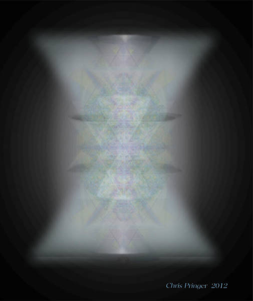 Digital Art - Predawn Chalice Still All One by Christopher Pringer