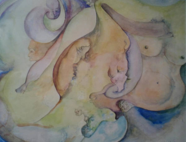 Painting - Pregnant With Desire One by Lynn Buettner