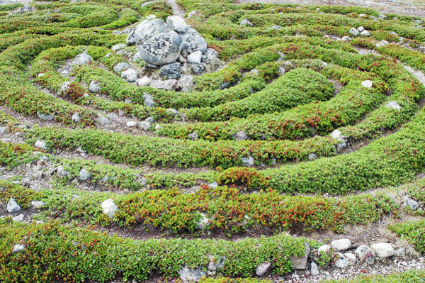 Prehistory Photograph - Prehistoric Labyrinth by Thomas Nilsen/science Photo Library