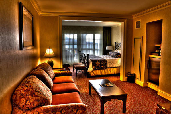 Wall Art - Photograph - Premier Balcony Suite At The Sagamore Resort  by David Patterson