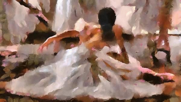 Digital Art - Prepares To Dance by Catherine Lott