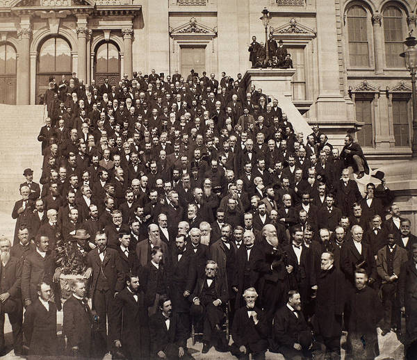 Wall Art - Photograph - Presbyterian Assembly, 1882 by Granger