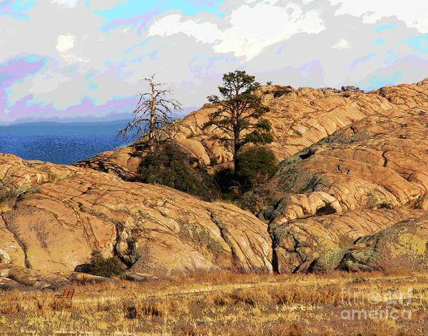 Photograph - Prescott Rest by Larry Oskin