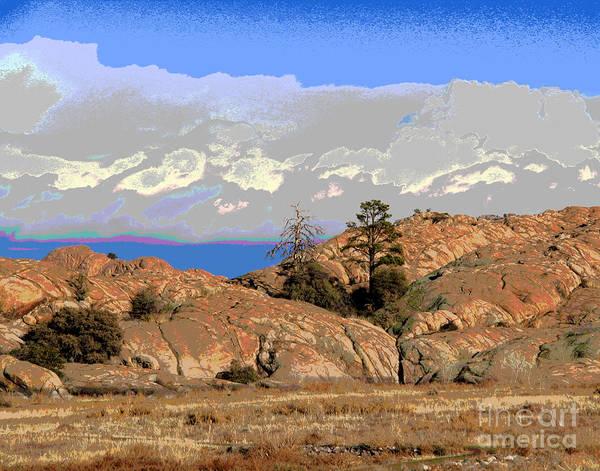 Photograph - Prescott View by Larry Oskin