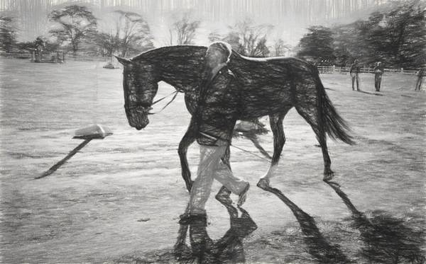 Fairhill Photograph - Presentation In Charcoal by Alice Gipson