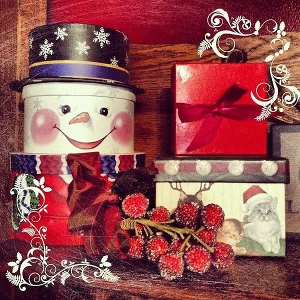 Holiday Wall Art - Photograph - Presents! Oh Joy! #christmas #holiday by Teresa Mucha