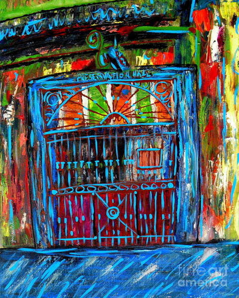 Preservation Wall Art - Painting - Preservation Hall by JoAnn Wheeler