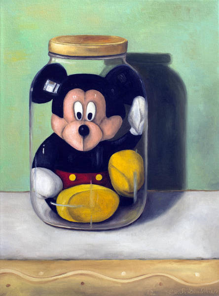 Wall Art - Painting - Preserving Childhood 4 by Leah Saulnier The Painting Maniac