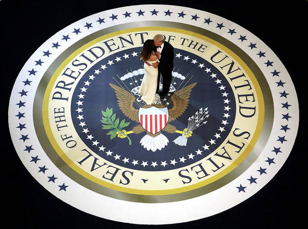Us President Photograph - President Donald Trump Attends A Salute by Alex Wong