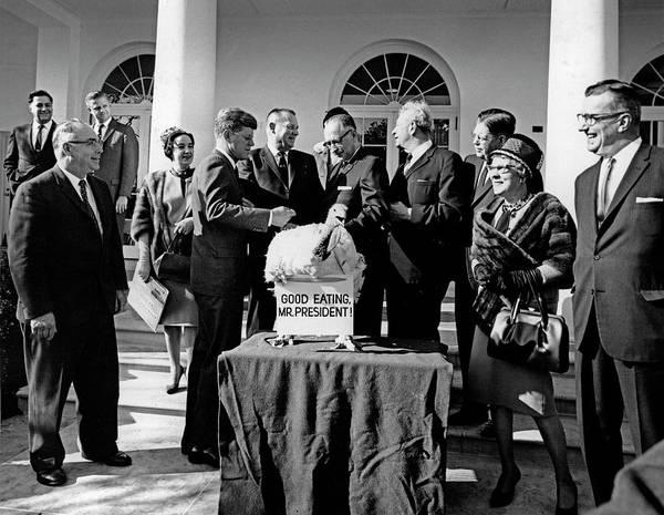 Wall Art - Photograph - President John F. Kennedy Receives by Stocktrek Images