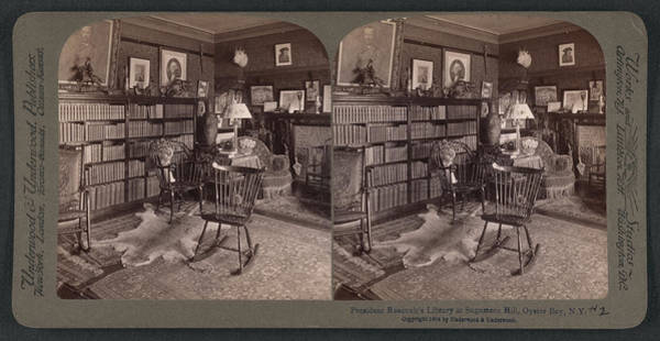 Sagamore Wall Art - Drawing - President Roosevelts Library At Sagamore Hill by Litz Collection