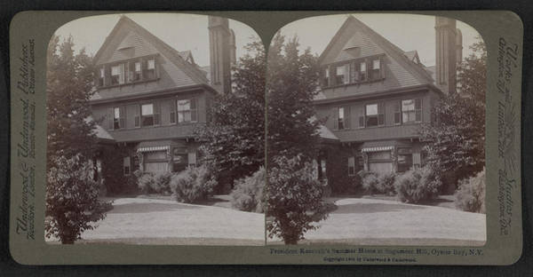 Sagamore Wall Art - Drawing - President Roosevelts Summer Home At Sagamore Hill by Litz Collection