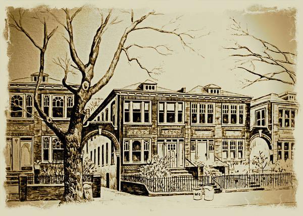 Painting - President Street by Nancy Brody