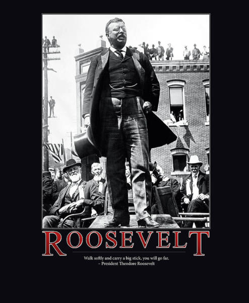 Wall Art - Photograph - President Theodore Roosevelt by Retro Images Archive