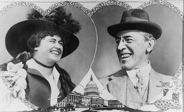 1915 Photograph - President Wilson To Wed by Underwood Archives
