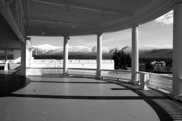 Photograph - Presidential Porch by Robert Clifford
