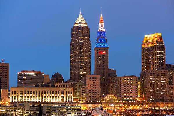 President's Day In Cleveland 2014 2 Art Print