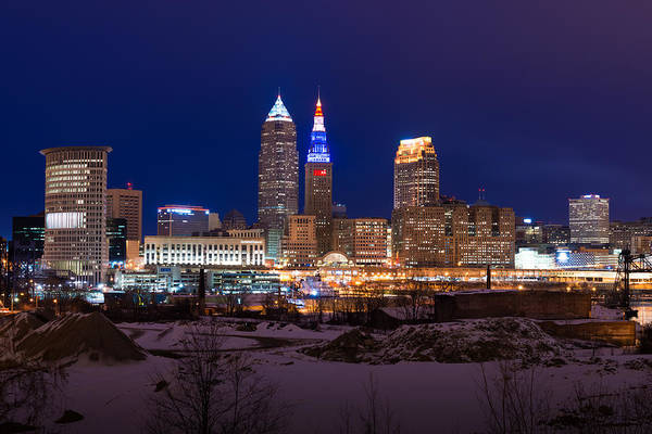 President's Day In Cleveland 2014 Art Print