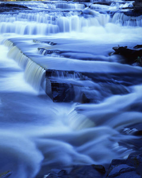 Photograph - Presque Isle Falls by Ray Mathis