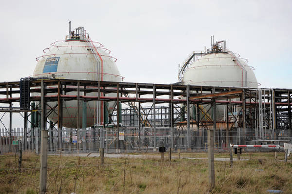 Public Land Photograph - Pressurised Gas Containers by Public Health England