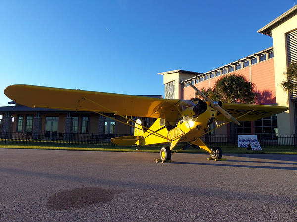 Lock Haven Wall Art - Photograph - Preston Aviation Piper Cub 006 by Chris Mercer