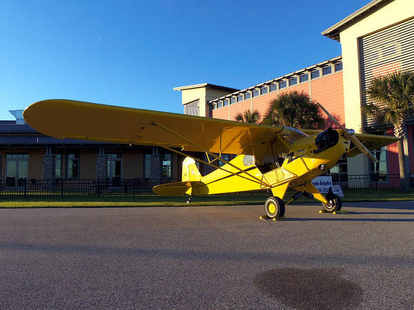 Lock Haven Wall Art - Photograph - Preston Aviation Piper Cub 007  by Chris Mercer