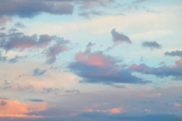 Photograph - Pretty Clouds 5 Filtered by Duane McCullough