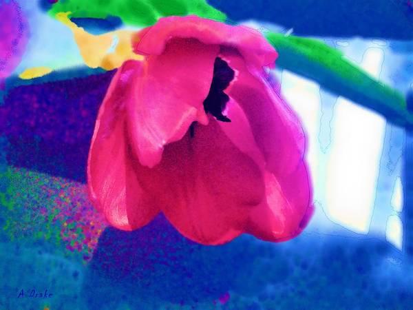 Digital Art - Pretty In Pink by Alec Drake