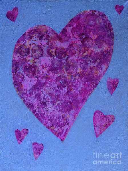 Pretty In Pink Mixed Media - Pretty In Pink by Joanne Clark