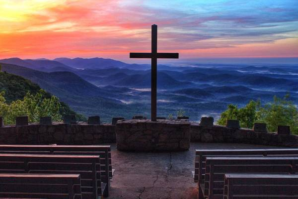 Pretty Place Chapel Sunrise Art Print