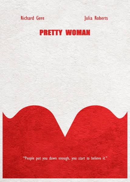Richard Digital Art - Pretty Woman by Inspirowl Design