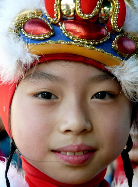 Photograph - Pretty Young Asian Girl by Jeff Lowe
