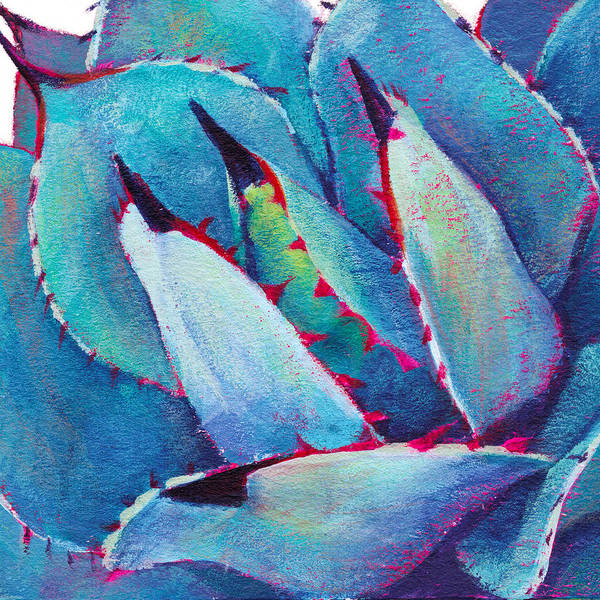 Agave Painting - Prickly 3 by Athena Mantle