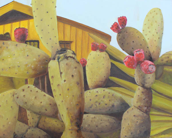 Painting - Prickly Pear by Dennis Sullivan