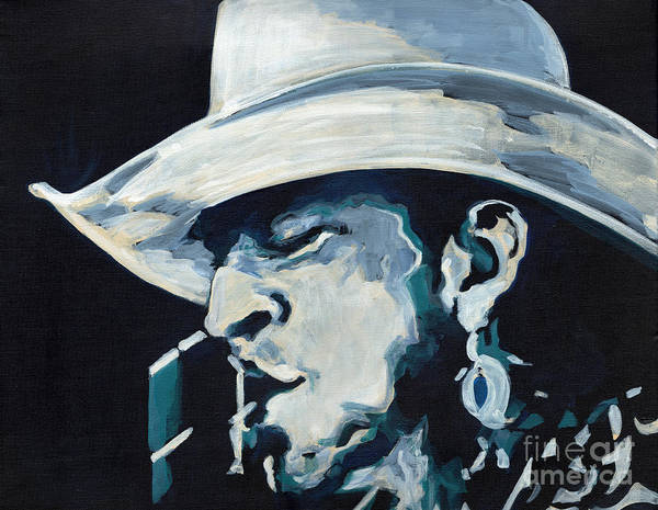 Painting - Stevie Ray Vaughan - Pride And Joy by Tanya Filichkin