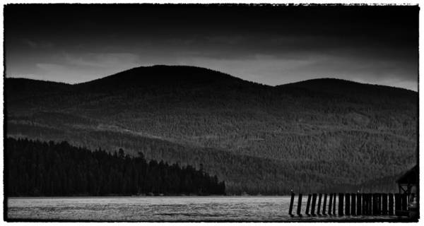Priest Lake Photograph - Priest At Dusk by David Patterson