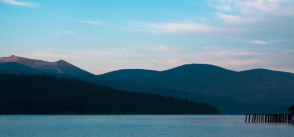 Photograph - Priest Lake Pier - Elkins Resort by David Patterson