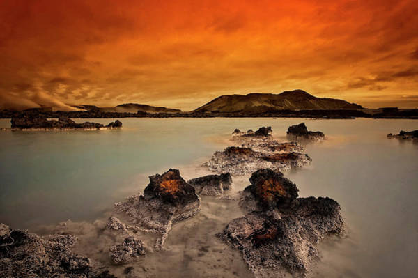 Hot Spring Wall Art - Photograph - Primal Elements by ?orsteinn H. Ingibergsson