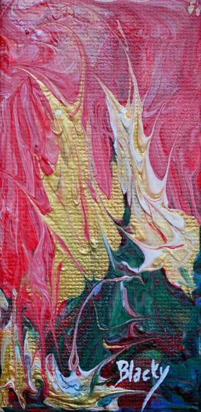 Primal Painting - Primal Scream by Donna Blackhall